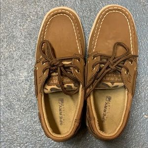 Sperry Top-sider kids shoes size 12.5 girls